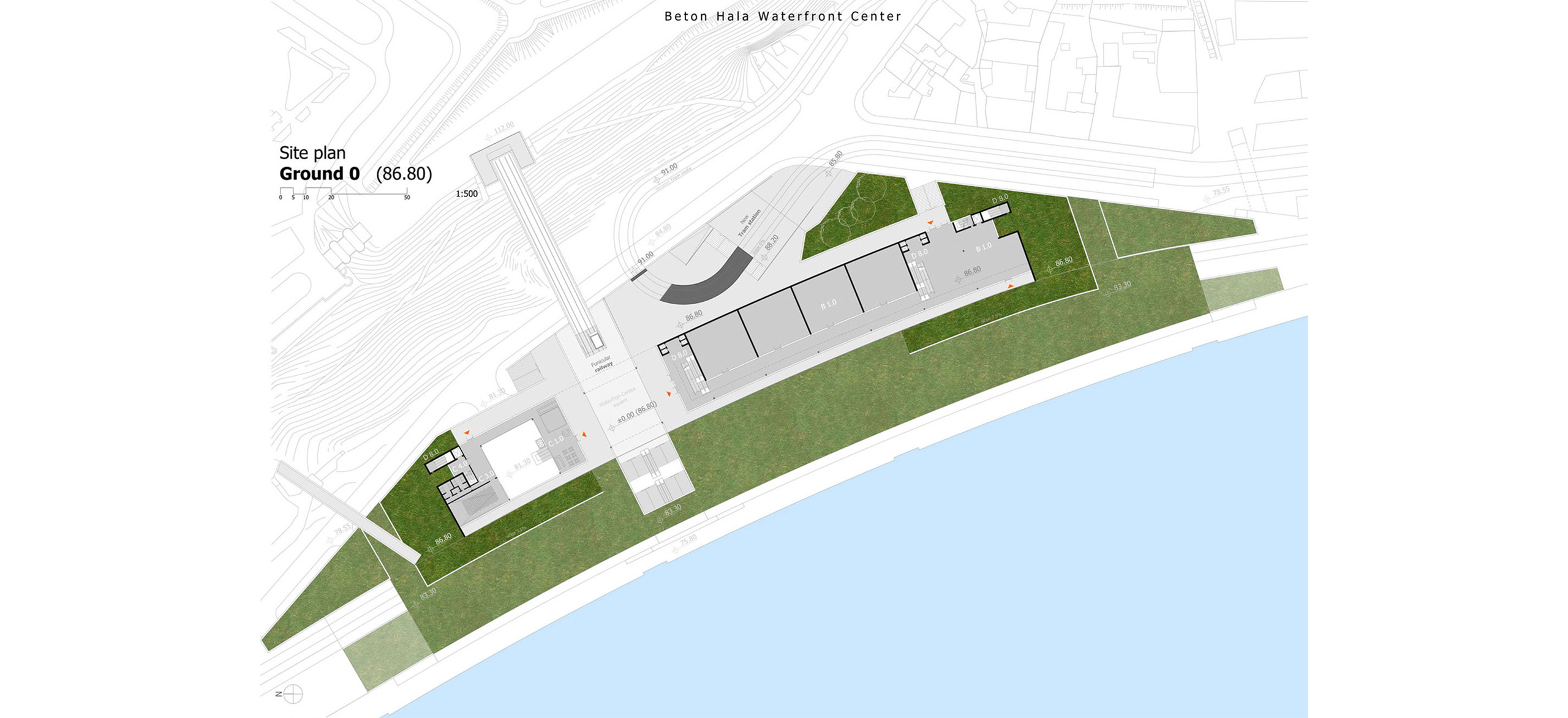 Waterfront Centre _ BETON HALA | Belgrade | author Ilja Mikitisin